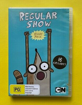 Regular Show Rigby Pack (DVD Region 4 PAL) • 7.83£