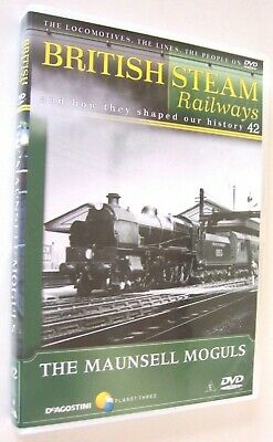 British Steam Railways DVD No.42; The Southern Maunsell Moguls 2-6-0 Locomotives • 1.99£