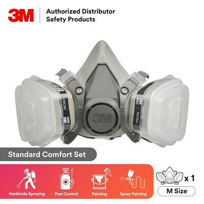 $ CDN45.76 • Buy 3M, 7 IN 1, 6100 Half Face Reusable Respirator For Spraying & Painting, SMALL