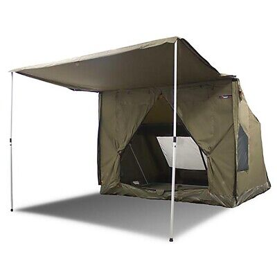 £977.83 • Buy Oztent RV-5 Heavy Duty 5 Person Waterproof Camping Tent With Sun Awning, Green