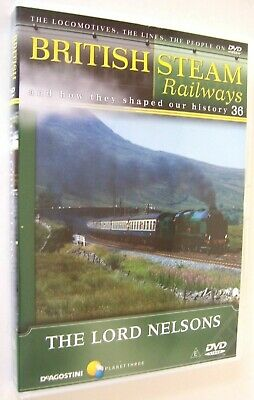 British Steam Railways DVD No.36; The Southern 7P Lord Nelson 4-6-0 Locomotives • 1.99£
