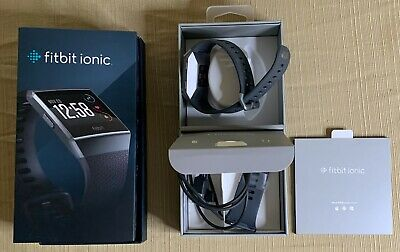 $ CDN262.32 • Buy Brand New Fitbit Ionic GPS Smart Watch-Large And Small Size Bands Fitness
