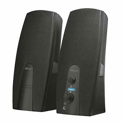 Trust Almo 2.0 PC Speakers For Computer And Laptop, 10 W, USB Powered, Black • 18.65£