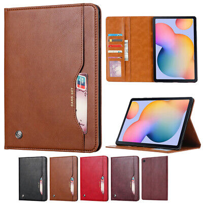 Wallet Leather Case For Samsung Galaxy Tab A7 2020 T505 Tablet Stand Card Cover  • 14.29£