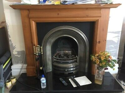 Victorian Style Coal Effect Gas Fire • 500£