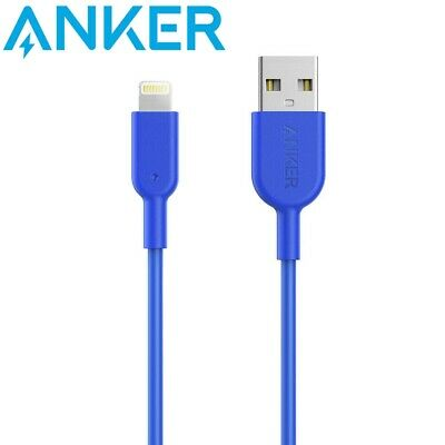 AU36 • Buy Anker PowerLine II USB To Lightning Charging Cable 3.0m Blue Apple MFi Certified