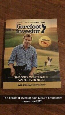 AU20 • Buy The Barefoot Investor: The Only Money Guide You'll Ever Need By Scott Pape...