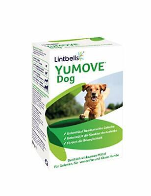 Lintbells | YuMOVE Dog | Essential Hip And Joint Supplement For Stiff Dogs Aged • 20.99£