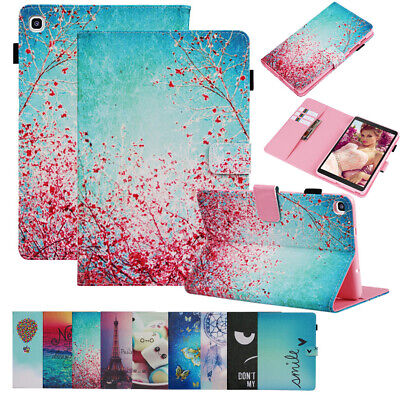 Wallet Stand Tablet Case For Samsung Galaxy Tab A 10.1 2019 T510/T515 Flip Cover • 10.28£