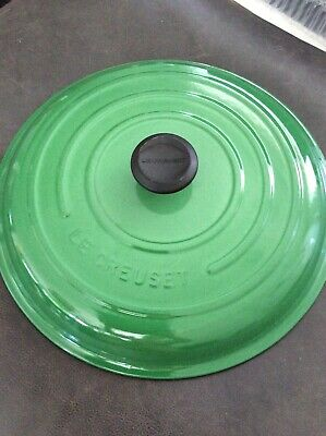 $ CDN130.91 • Buy Le Creuset #32 5Qt Dutch Oven LID ONLY! Never Used GREEN