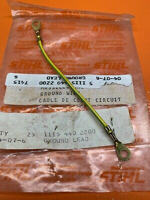 $11.95 • Buy Genuine Stihl 045 056 Av Ignition Ground Wire Lead 1115 440 2200 New Oem -b59