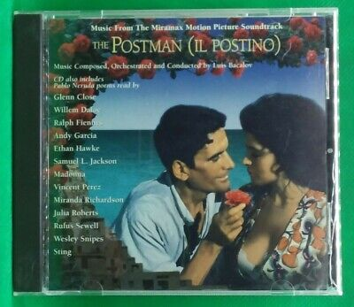 The Postman (Il Postino) Music From The Motion Picture CD 1995 (a41) • 2.50£