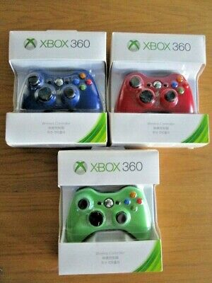 AU50 • Buy Microsoft Xbox 360 Gamepad Game Controller Windows PC Game Console Wireless NEW