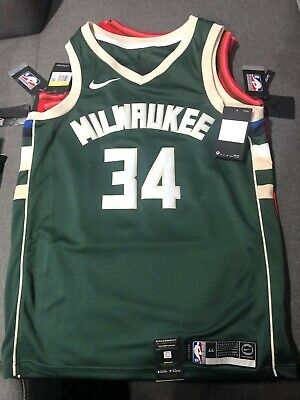 AU90 • Buy Nike Nba Authentic Swingman Jsy - Giannis Antetokounmpo - Size M Mens 44 - Bnwt