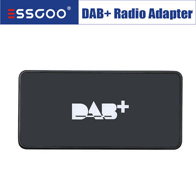 DAB + Box Adapter Antenna Tuner FM Transmission Receiver For Android Car Radio  • 29.99£