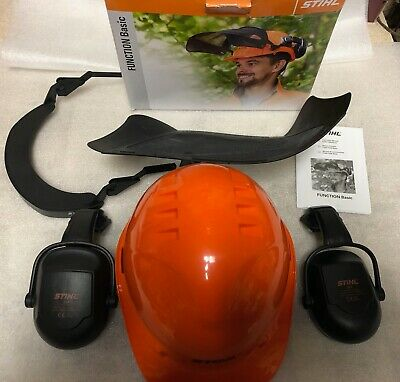 £49.69 • Buy STIHL  Chainsaw Safety Helmet With Hearing Protection Function Basic New Oem