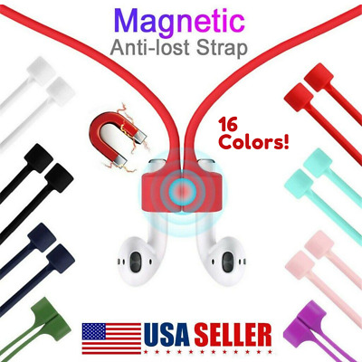 $ CDN3.62 • Buy Magnetic Earphone Anti-lost Strap Strap String Rope-Cable For Airpods Earbuds