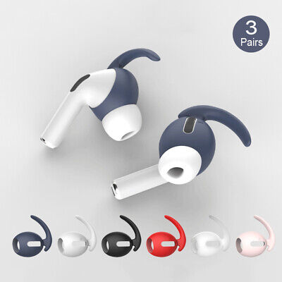 $ CDN5.25 • Buy 3 Pairs Anti-Lost Eartips Ear Hook Cap Cover For Apple AirPods Pro In-Ear Case