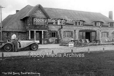 Bcd-35 The Old Barn, East Wittering Nr Chichester, Sussex 1930's. Photo • 3.25£