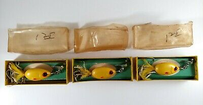 $ CDN40.08 • Buy Lot Of 3 Vintage Brook's Baits No. 4 Skirted Spinners, Lures With Original Boxes