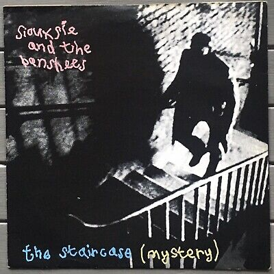 Siouxsie And The Banshees Staircase Mystery Polydor Original 1979 Vinyl 7  VG+ • 6£