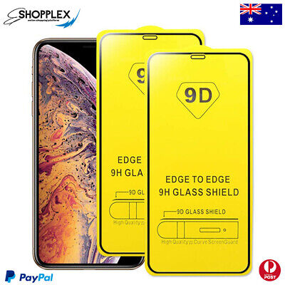 AU3.79 • Buy Tempered Glass Screen Protector For Apple IPhone 12 Mini 11 Pro Max X XS XR 9D