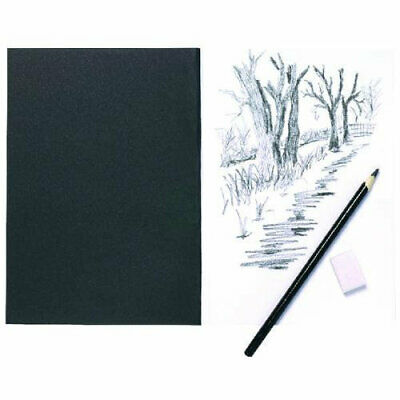 A5 Sketch Book - Card Cover 110gsm Brilliant White Drawing Paper Sketching Pad • 1.99£