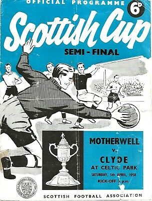 Scottish Cup Semi Final Programmes ~ 1958 - 1988 ~ You Choose Which Ones  • 2.49£