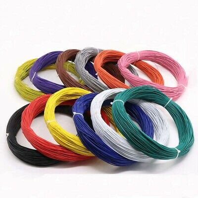 AU4.98 • Buy 12-Colors O.D 1.8mm 20AWG Flaxible Stranded Electronic Wire UL1007 PVC Cable