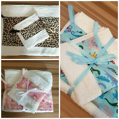 Towel Set/holiday/hospital/girls/boys/new Baby....Lovely Gift! • 5.95£