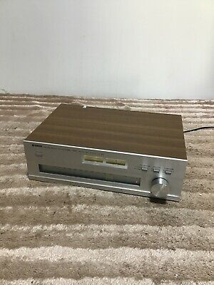 Yamaha Natural Sound AM FM Stereo Tuner CT-510 CT 510 NFB PLL MPX Auto DX • 59.99£