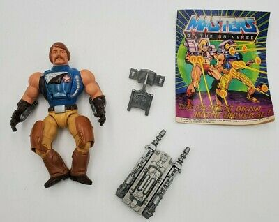 $99.99 • Buy 1985 MASTERS OF THE UNIVERSE RIO BLAST 100% Complete With Comic MOTU MOTUC