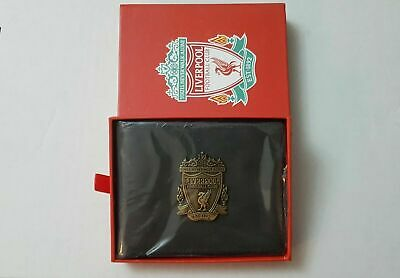 Liverpool FC Black Leather Wallet • 9.99£