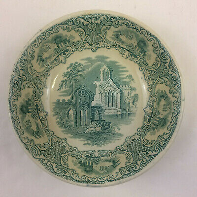 $29.74 • Buy Petrus Regout & Co. Abbey Green Maastricht Round Vegetable Bowl 8 1/2  Antique