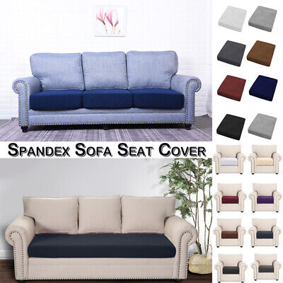 1/2/3 Seater Sofa Couch Seat Cover Fabric Cushion Stretchy Furniture Protector • 8.39£