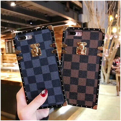 AU11.99 • Buy For IPhone 12 11 Pro XS Max X Case Cover Protective Patterned Square Shockproof