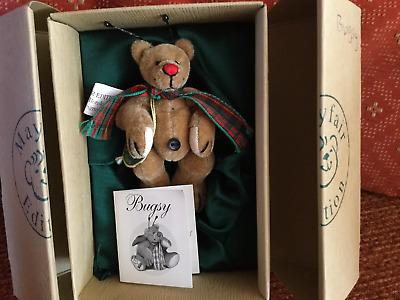 Mayfair Edition BUGSY Miniature Collectible Bear Limited Edition • 15£