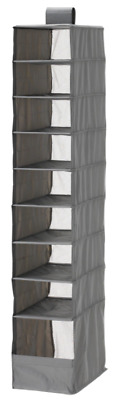 IKEA SKUBB HANGING 9 Compartments Shoe Organiser Storage Boxes Wardrobe Divider • 10.79£