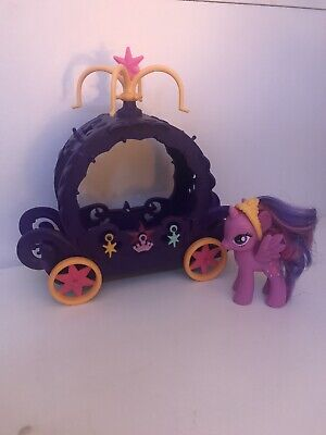 My Little Pony Cutie Mark Magic Princess Twilight Sparkle Charm Carriage Playset • 4.99£