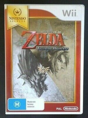 AU54.95 • Buy The Legend Of Zelda Twilight Princess & Official Guide Wii FREE POSTAGE+TRACKING