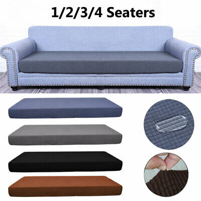 1-4 Seats Sofa Love Seat Covers Replacement Cushion Cover Couch Settee Protector • 15.62£