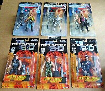 £29.95 • Buy Multi-list Selection Of Kenner Terminator 2 Action Figures 1991/1997 Free Uk P/p