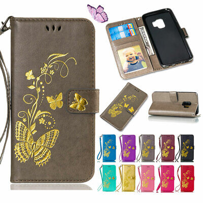 $ CDN11.20 • Buy For Samsung Galaxy NOTE 8 5 4 S8 Folding PU Leather Stand Card Wallet Case Cover
