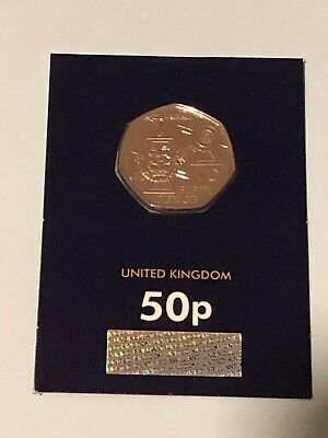2019 50p Fifty Pence Coin Victoria Cross Brilliant Uncirculated Uk BUNC  • 4.95£