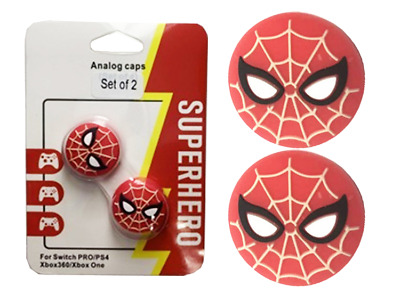 AU9.90 • Buy Spider-Man Thumb Grips For Switch Pro/ PS4/ XBOX ONE/360 Toggle Cover PS5 Caps