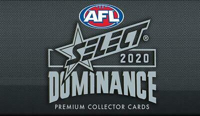 AU45 • Buy 🔥afl 2020 Select Dominance🔥 (all Cards)- You Pick 👀