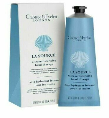 Crabtree & Evelyn  La Source Ultra-moisturising Hand Therapy 100g New  • 10£