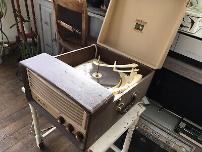 Vintage HMV Record Player • 40£