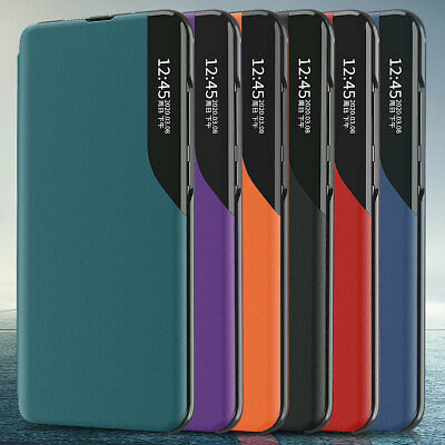 AU10.99 • Buy For Lots Phone Model Luxury Magnetic Flip Leather Smart View Shell Case Cover
