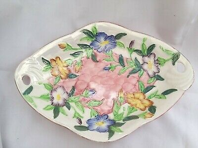 Maling Pottery Lustre Ware Springtime Plate 11  Wide Very In Good Condition • 24.99£